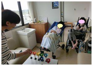綾部市の委託事業 訪問生活介護の様子