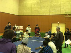 卓球バレー大会に参加したよ!